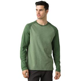 Prana Baseball Raglan T-Shirt Homme, canopy heather